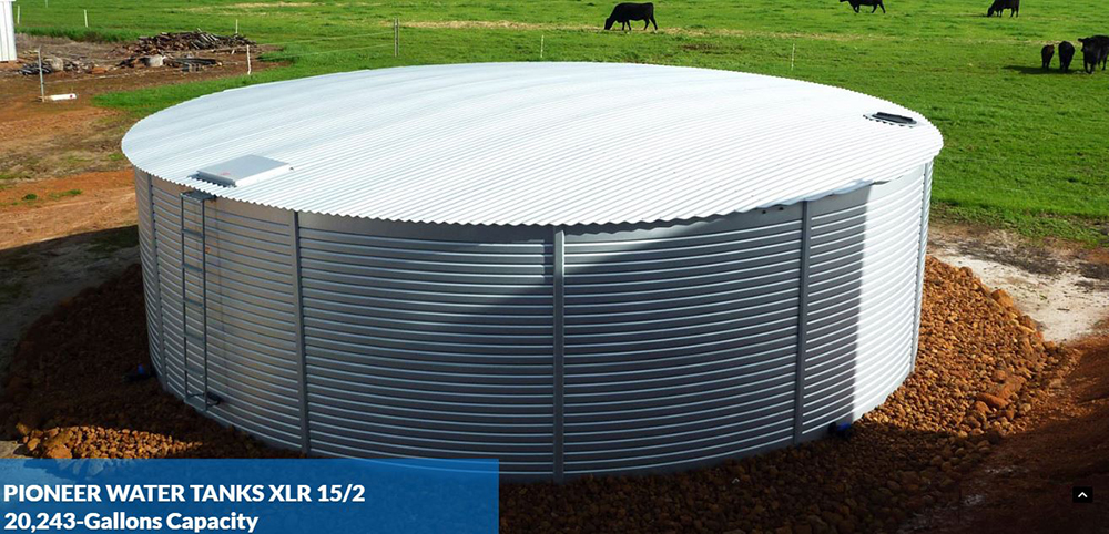 Pioneer Water Tanks protect your water within the AQUALINER Fresh® tank liner, the first antimicrobial liner, to keep your water fresh and clean for longer. BPA-Free and NSF-61 certified for drinking water storage, the five layered double welded liner has a 65-year lifespan.